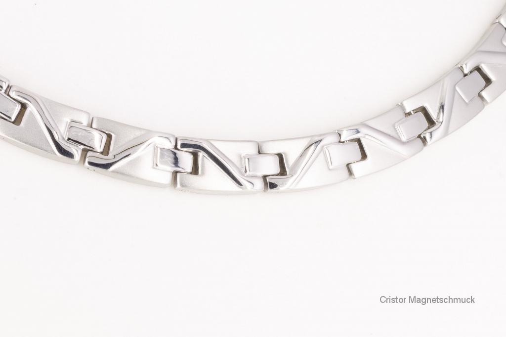 H9002S - Halskette silberfarben