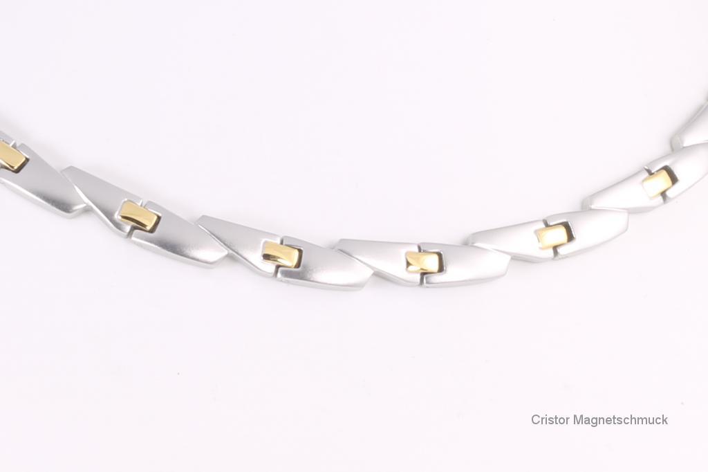 H9016B - Halskette bicolor