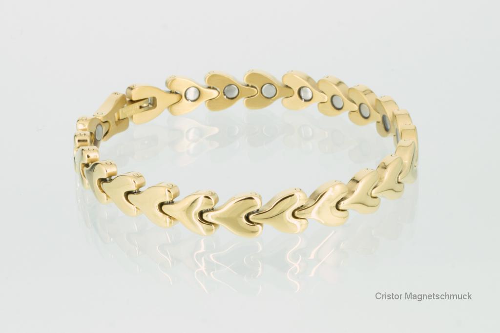 8071G2 - Magnetarmband goldfarben