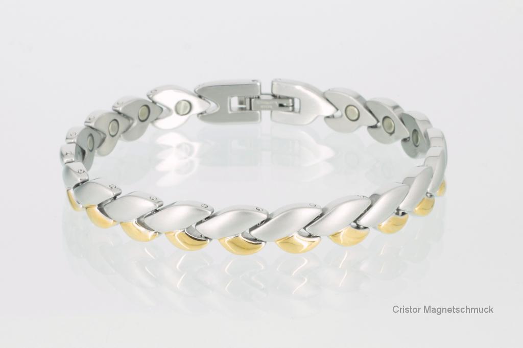 8051B - Magnetarmband bicolor
