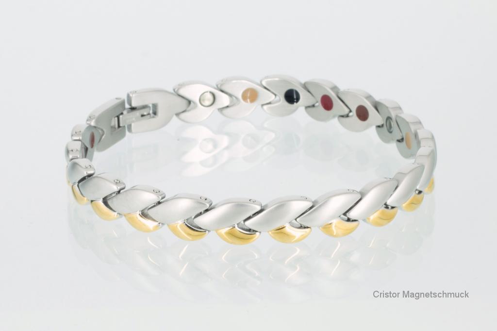 E8051B - 5-Elemente Armband bicolor