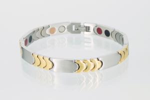 E8168B - 5-Elemente Armband bicolor