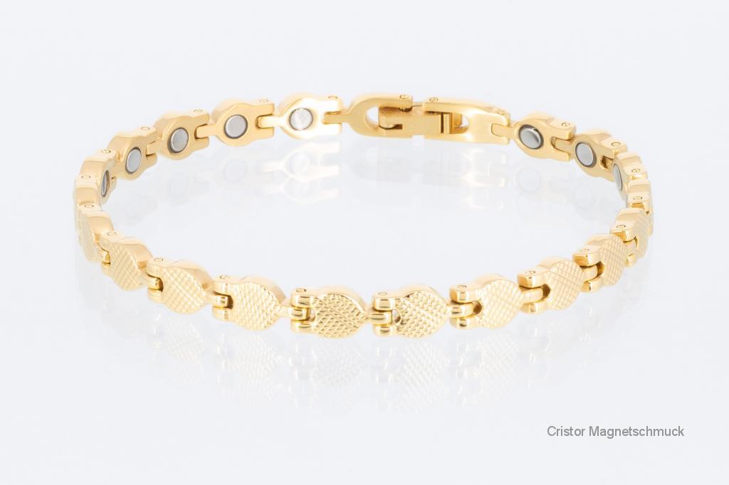 8239G - Magnetarmband goldfarben