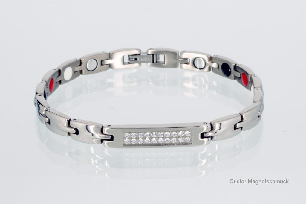 H9005SZSet - Halskette und Armband im Set silberfarben mit Zirkonia