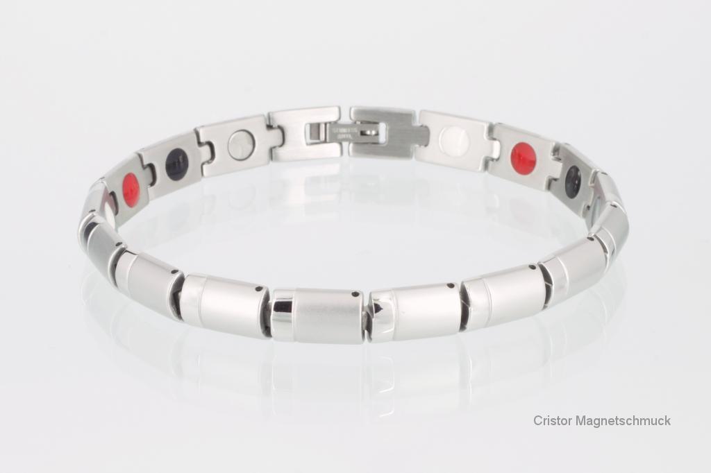 E8448S - 4-Elemente Armband silberfarben