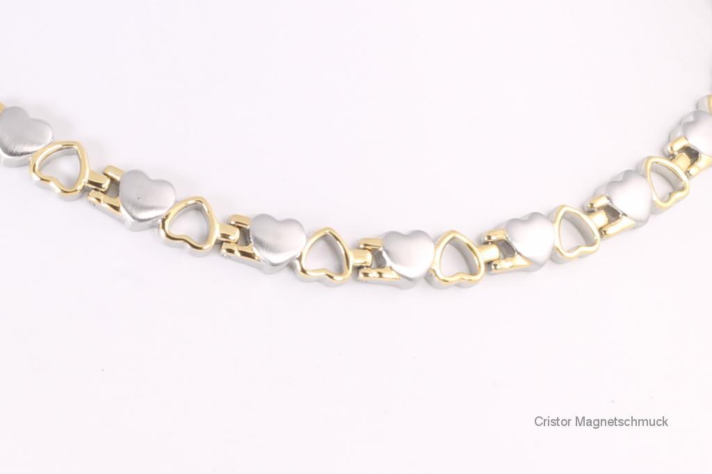 H9035B - Halskette bicolor