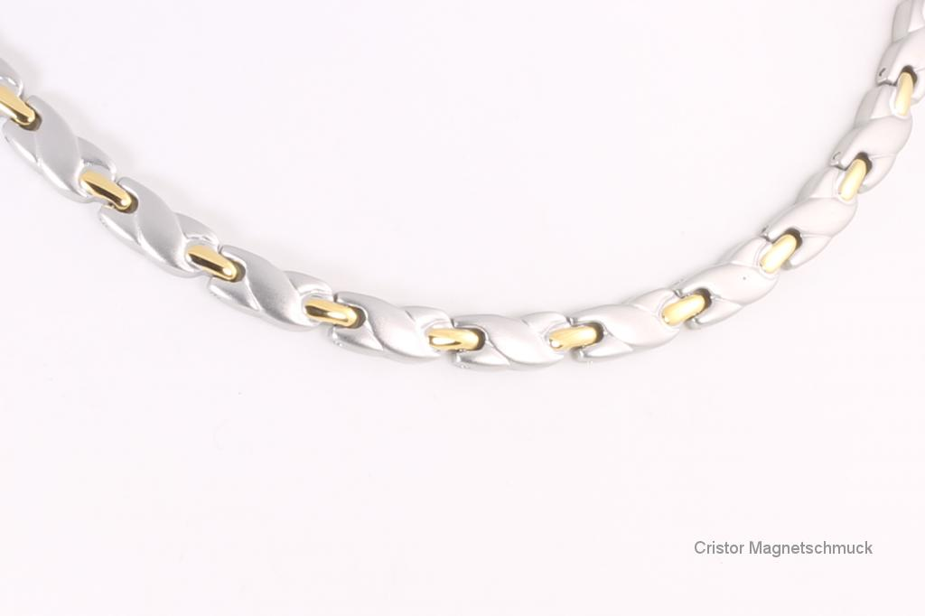 H9038B - Halskette bicolor