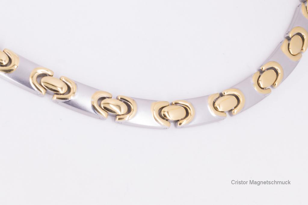 H9011B - Halskette bicolor