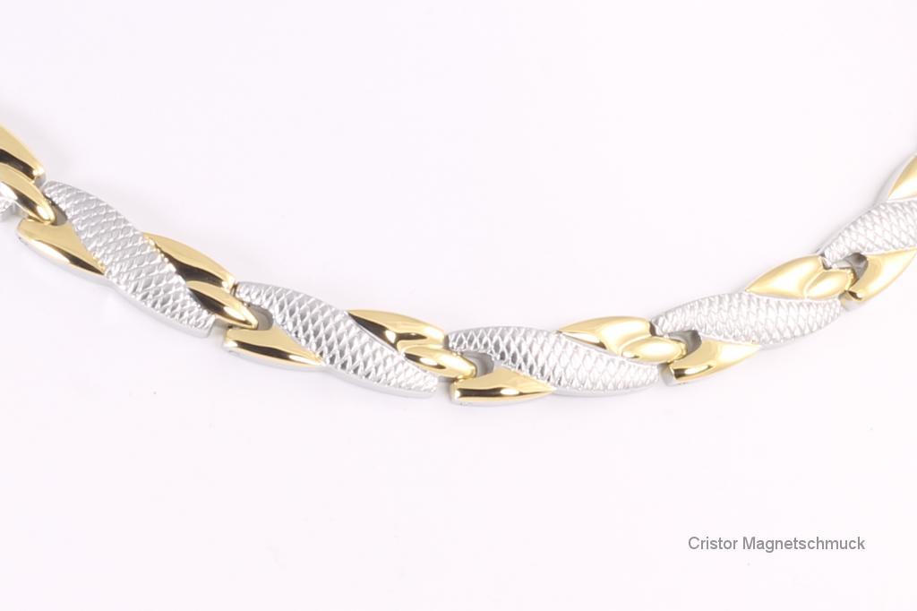H9059B - Halskette bicolor