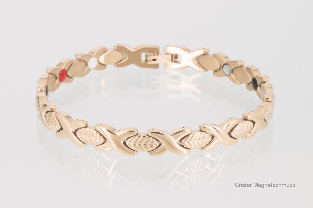 E8047RG2 - 4-Elemente Armband rosegoldfarben