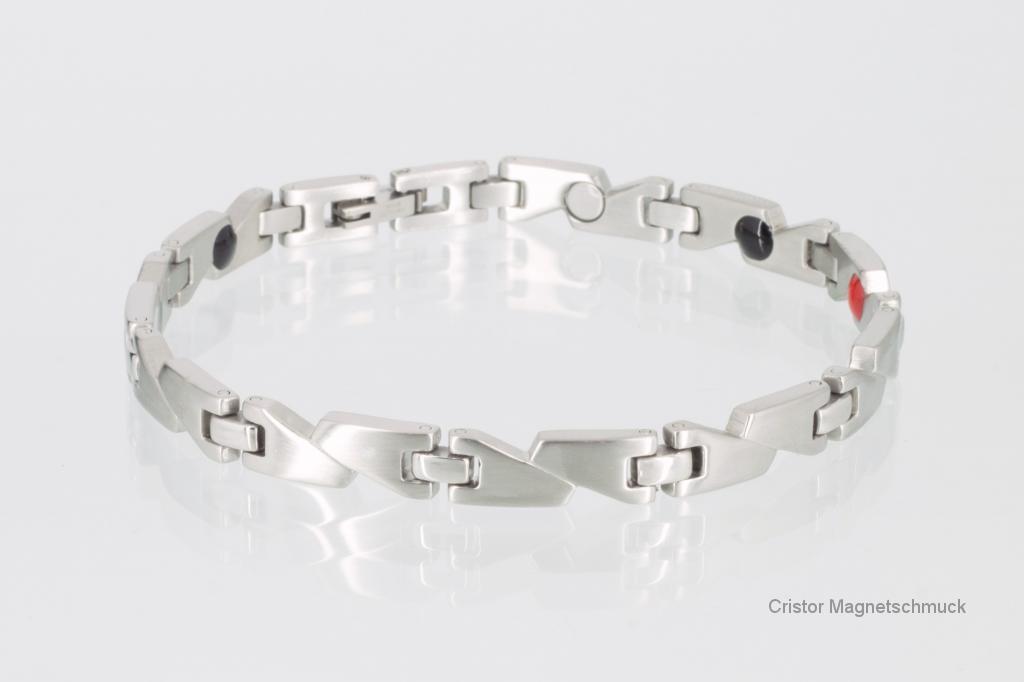 E8214S - 4-Elemente Armband silberfarben