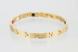 E8089G2 - 4-Elemente Armband goldfarben