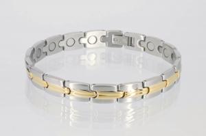 8116B - Magnetarmband bicolor