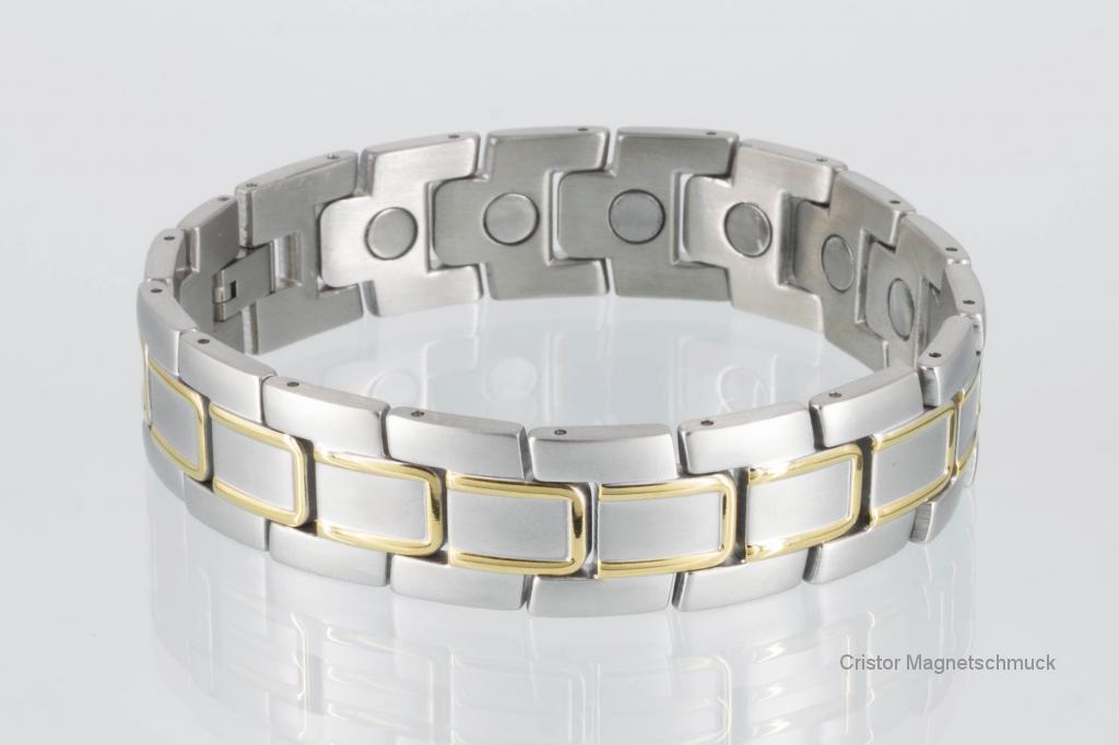 8170B - Magnetarmband bicolor