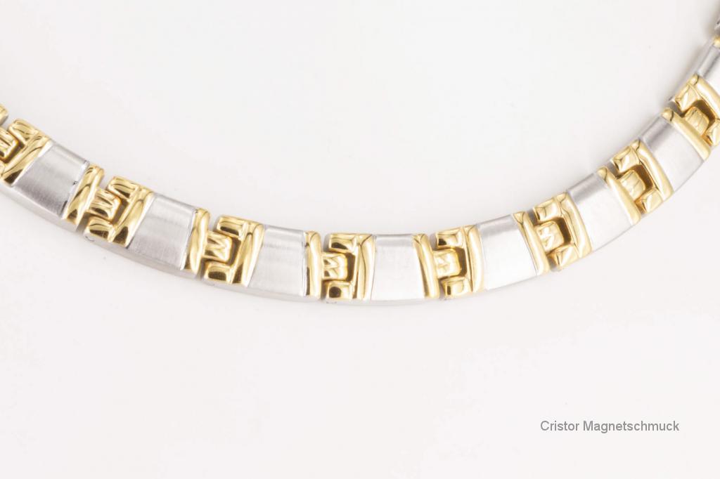 H9021B - Halskette bicolor