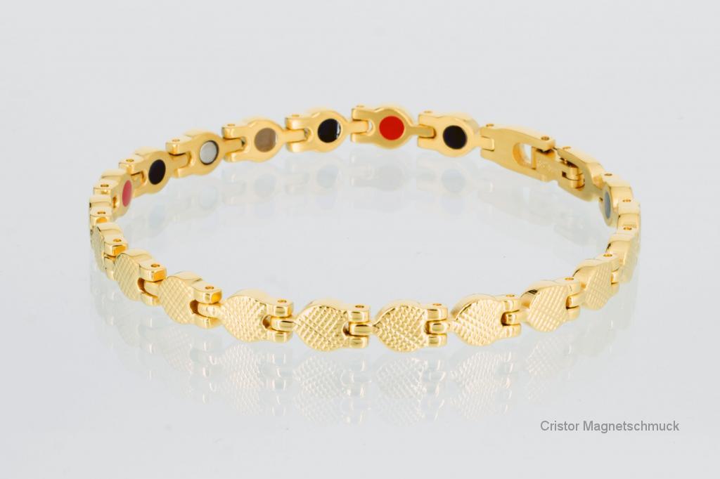 E8239GSet2 - Magnetschmuckset goldfarben