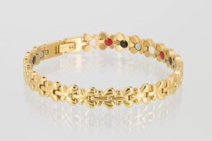 E8176G2 - 4-Elemente Armband goldfarben