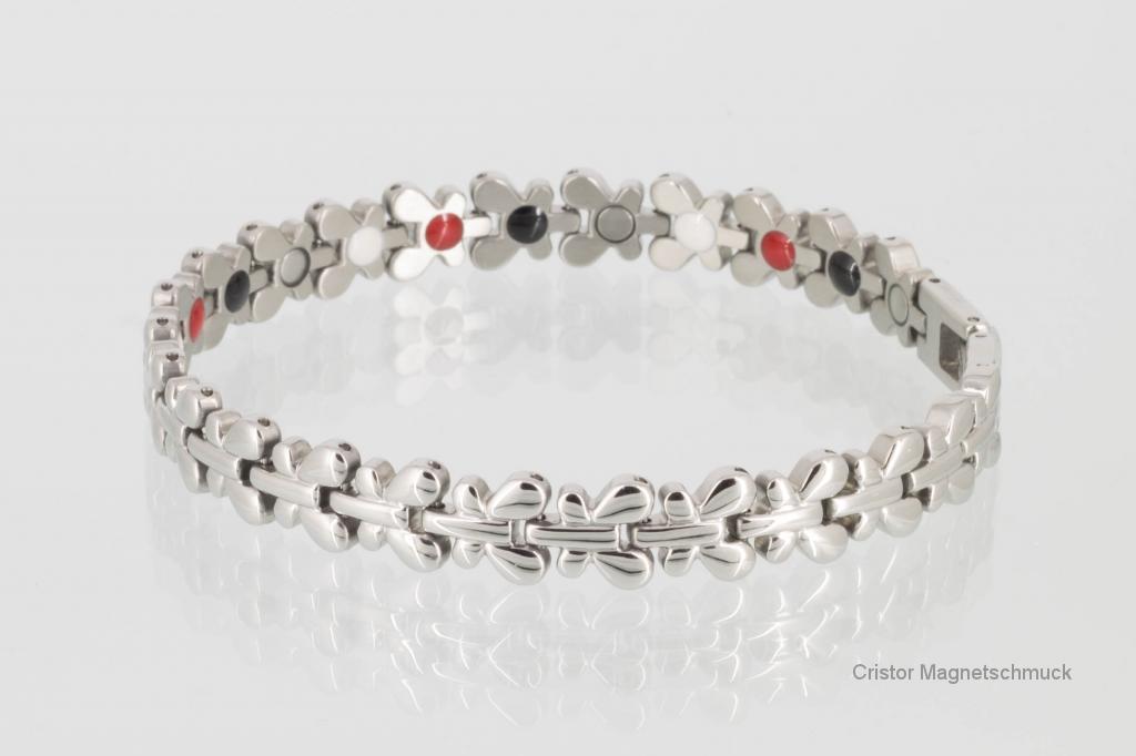 E8176S2 - 4-Elemente Armband silberfarben
