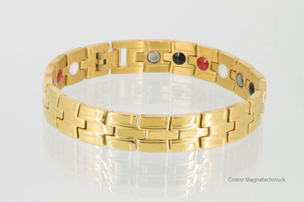 E8035G2 - 4-Elemente Armband goldfarben