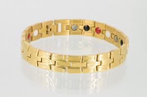 4-Elemente Armband goldfarben - e8035g2