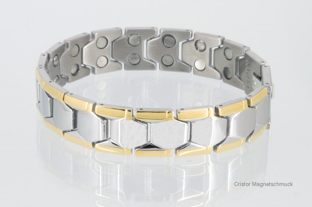 E8227B2 - Doppelreihiges Energiearmband bicolor