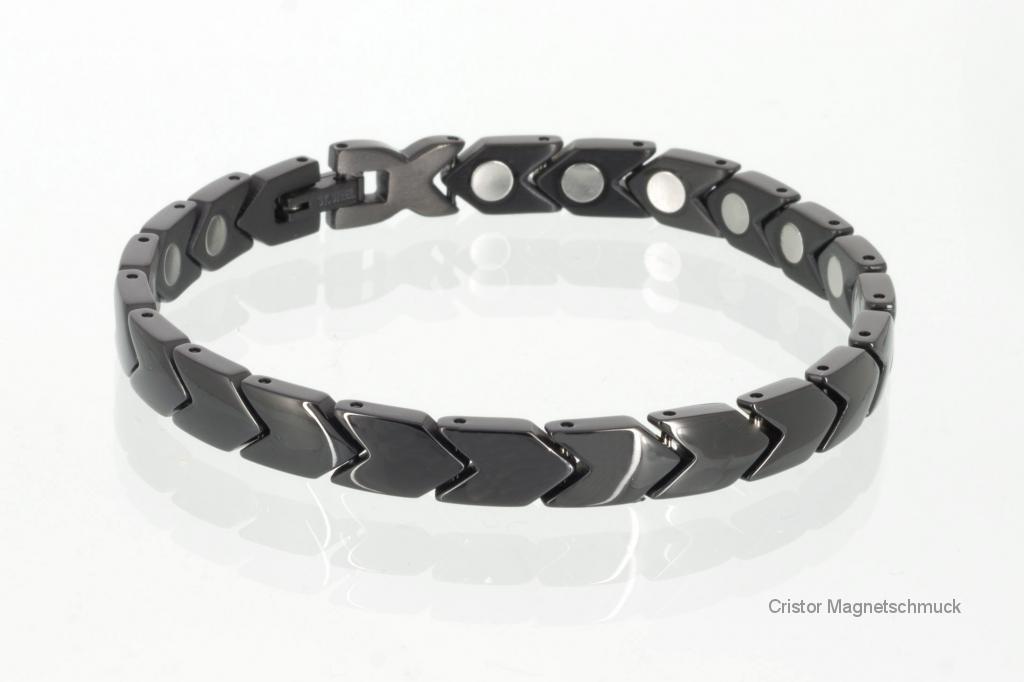 8030BL2 - Magnetarmband schwarz