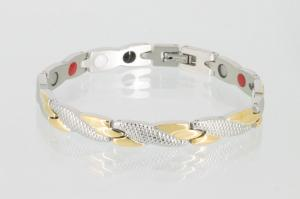 4-Elemente Armband bicolor - e8541b