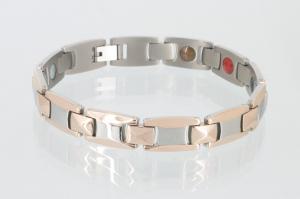 TE8247B2 - Titan-Energiearmband rosegold silber
