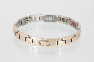 TE8248B2 - Titan-Energiearmband rosegold silber