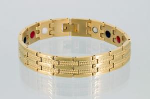 E8327G2 - 4-Elemente Armband goldfarben