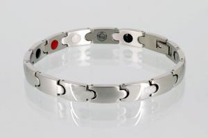 E8343S - 4-Elemente Armband silberfarben