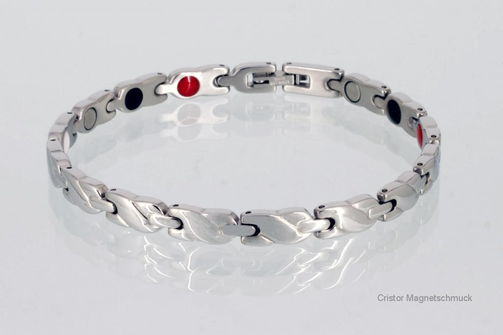 E8561S2 - 4-Elemente Armband silberfarben