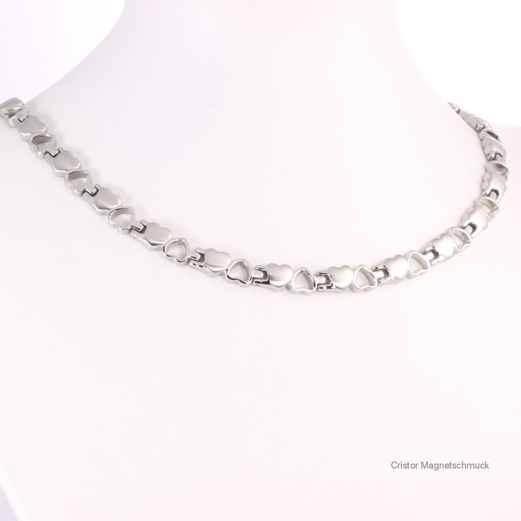 H9035SSet2 - Halskette und Armband im Set silberfarben