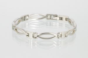 E8184S - 4-Elemente Armband silberfarben