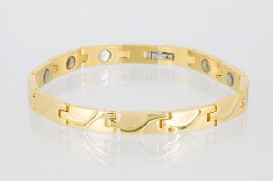 8250G - Magnetarmband goldfarben