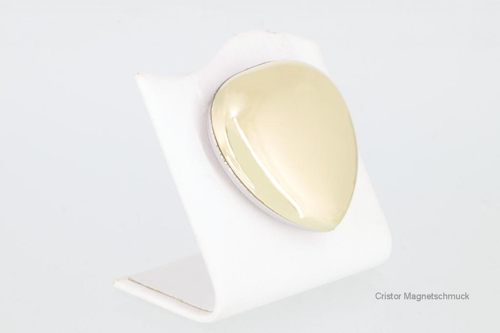 PE3011SK2 - Powermagnet silberfarben in Herzform