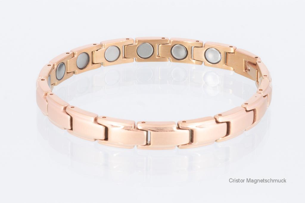8368RG4 - Magnetarmband rosegold mit extra-starken Magneten