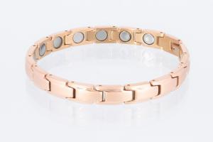 Magnetarmband rosegold mit extra-starken Magneten - 8368rg4