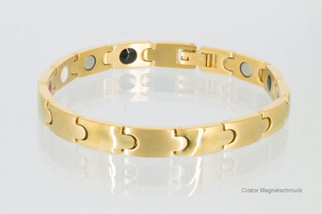 E8343G - 4-Elemente Armband goldfarben