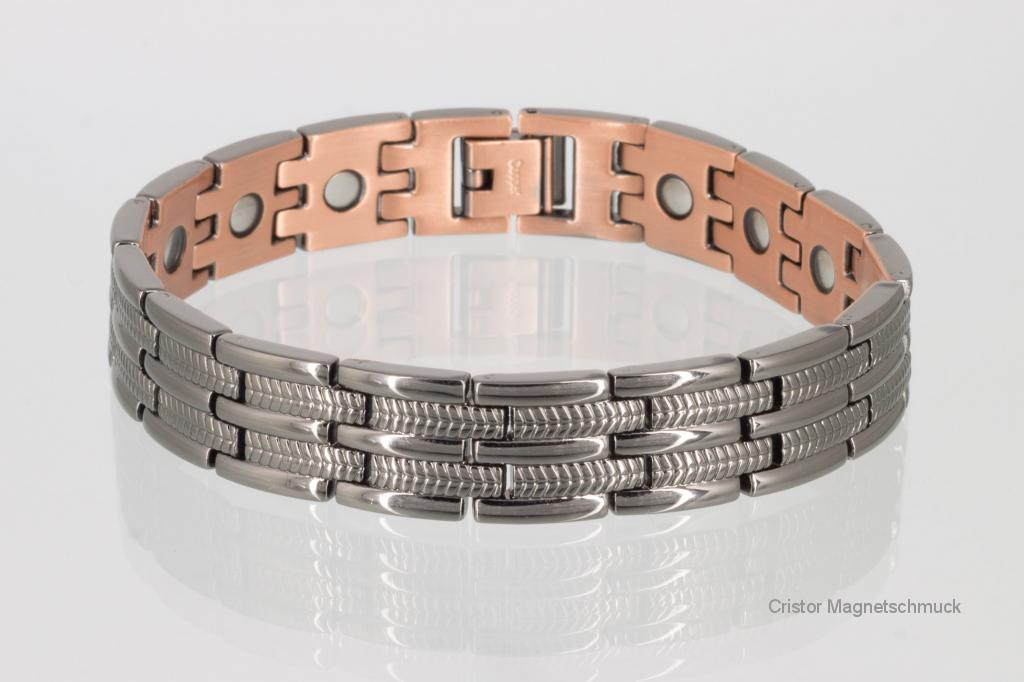 CU8327BL - Kupfer - Magnetarmband