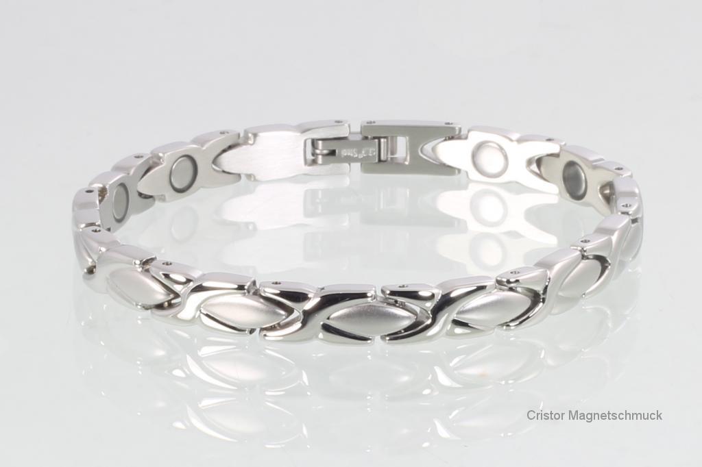 H9024SSet - Halskette und Armband im Set silberfarben