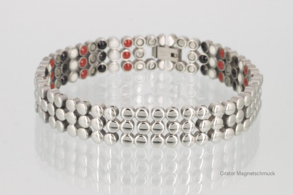 E8299S2 - 4-Elemente Armband silberfarben mit extra vielen Einlagen