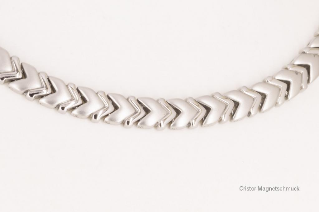H9022S - Halskette silberfarben