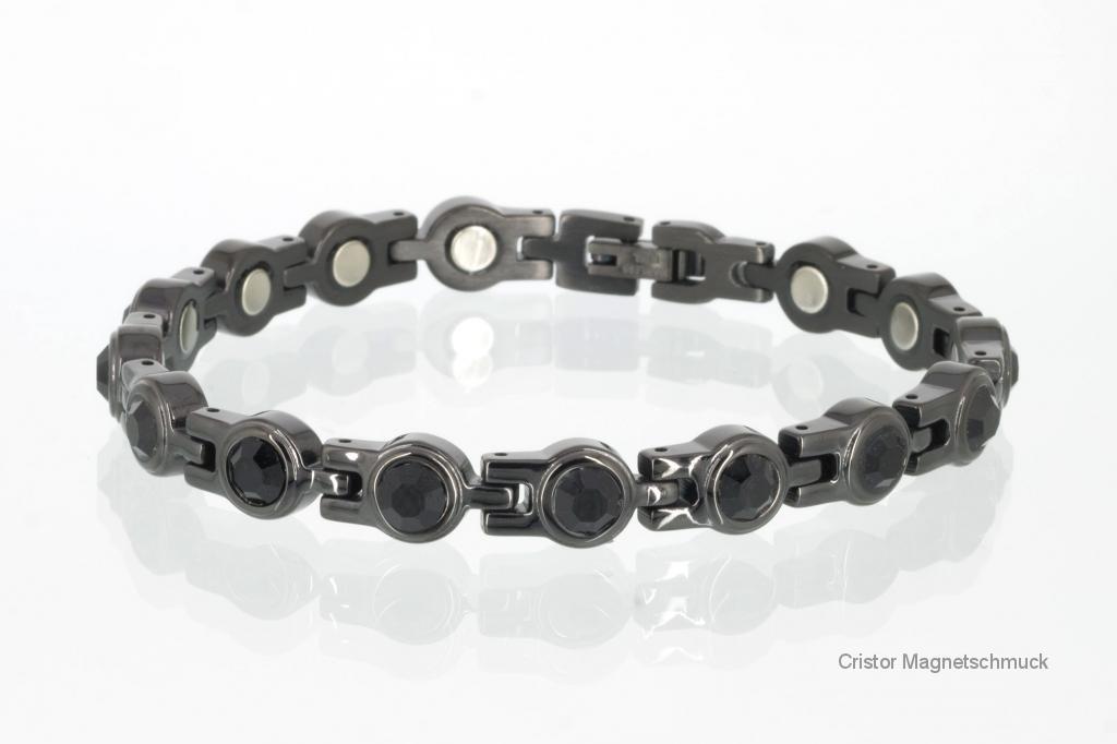 8052BLZSet - Magnetschmuckset schwarz