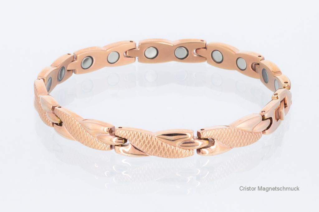 8541RG - Magnetarmband rosegoldfarben