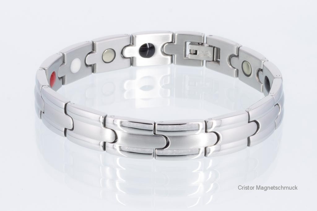 E8351S - 4-Elemente Armband silberfarben