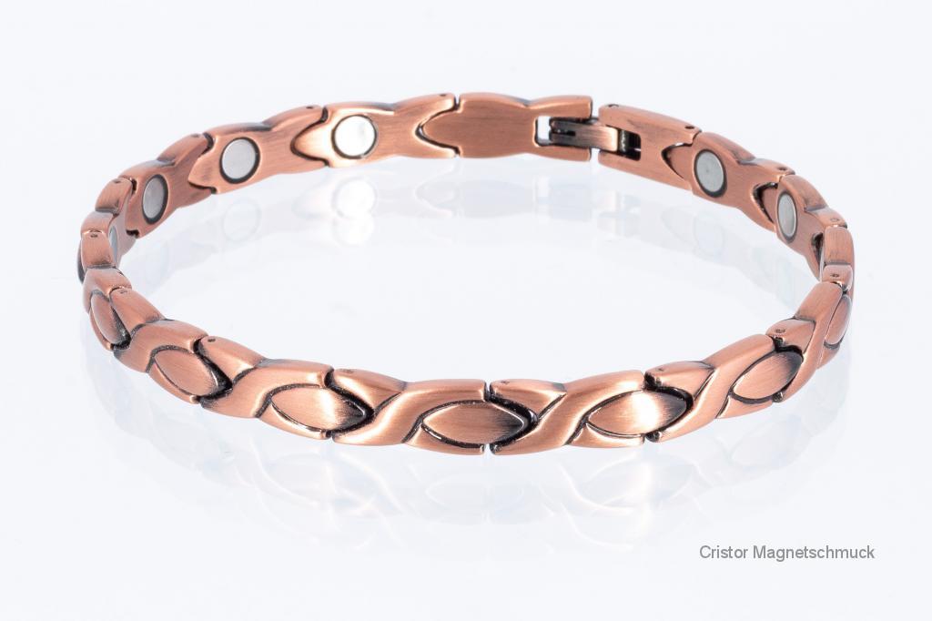 HCU9024Set - Kupferhalskette und -armband im Set