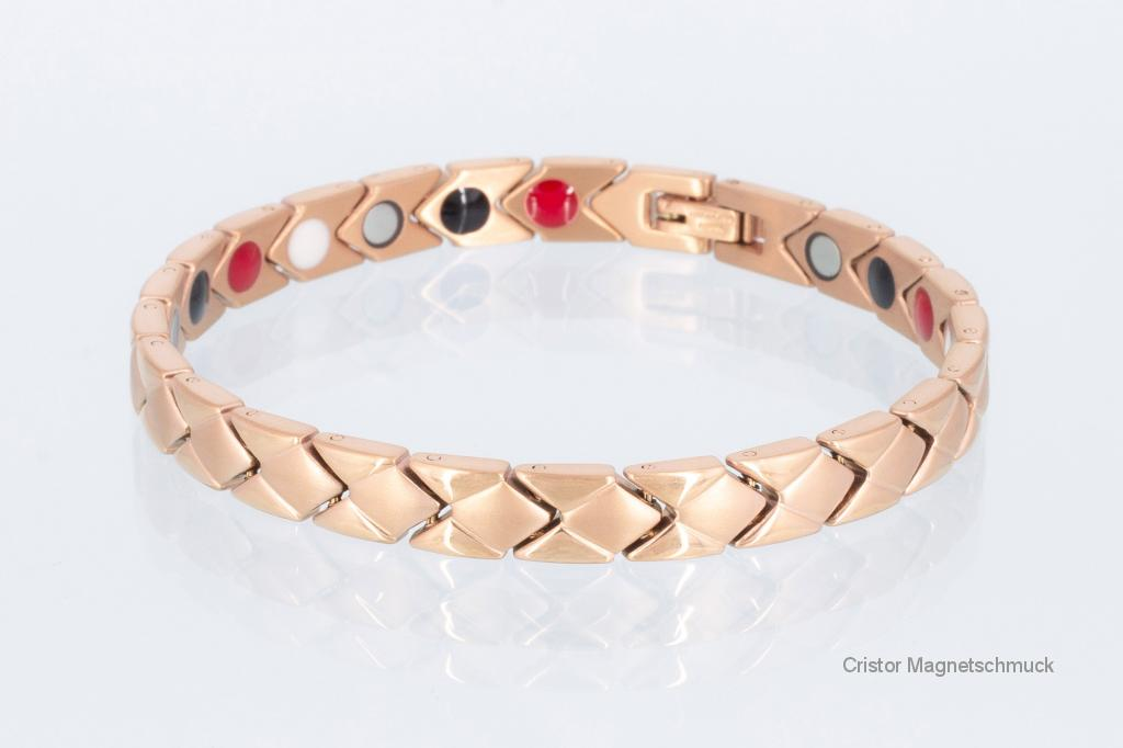 E8353RG - 4-Elemente Armband rosegoldfarben