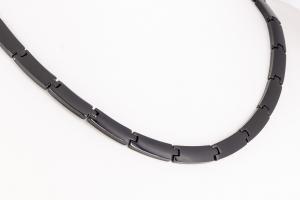 HTE9074BL2 - Titan-4-Elemente Halskette schwarz