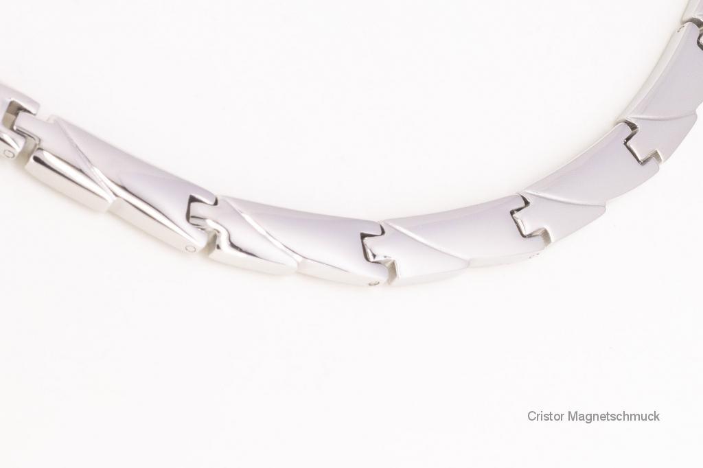 HE9045S2 - 4-Elemente Halskette silberfarben